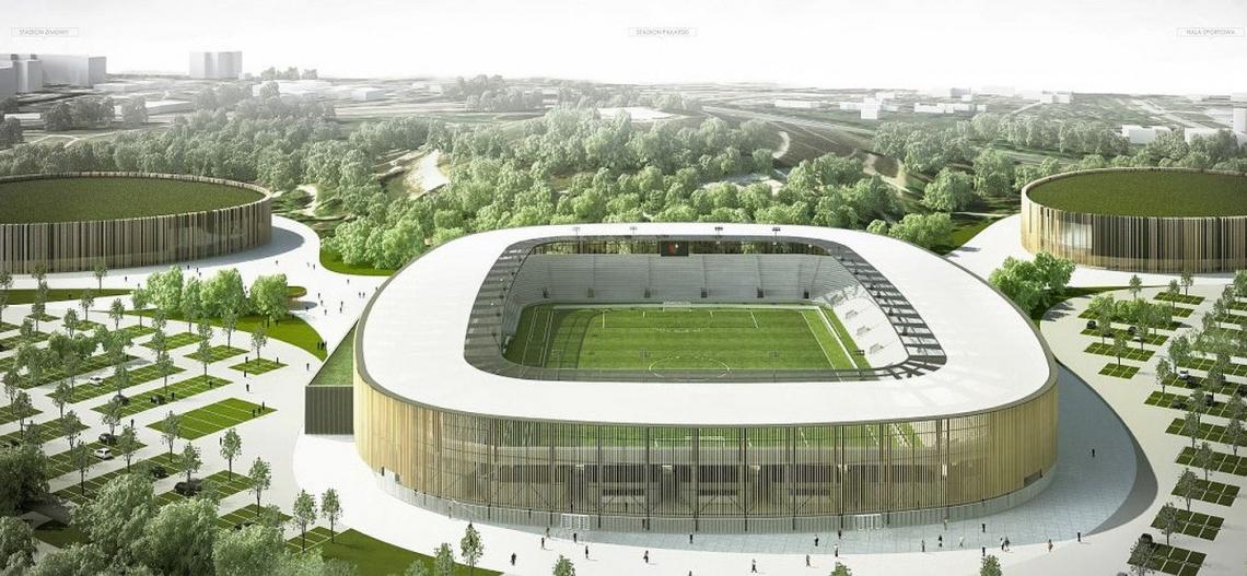 Czy nowy stadion od JSK Architekci doczeka się budowy?
