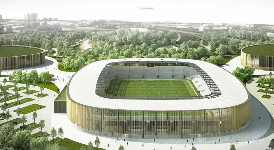 Umowa podpisana. JSK Architekci projektują Zagłębiowski Park Sportowy