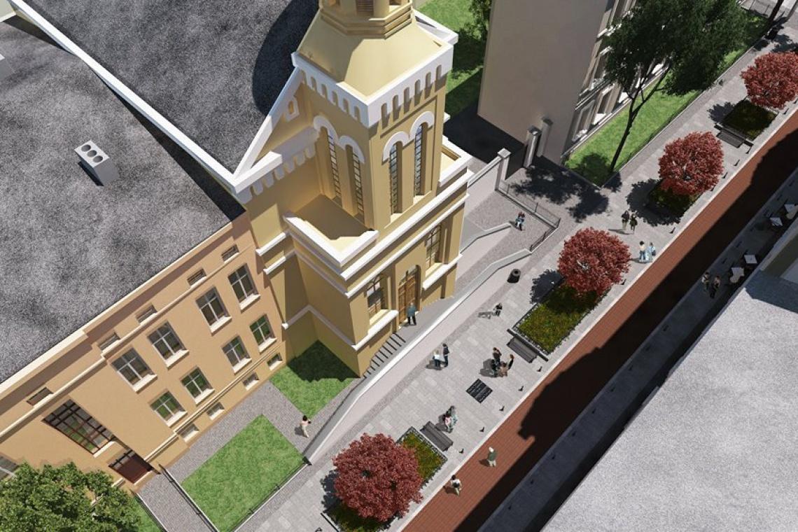 Kolejny woonerf w Łodzi gotowy w kwietniu
