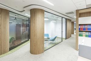 Nowe biuro Golub GetHouse według projektu InDesign