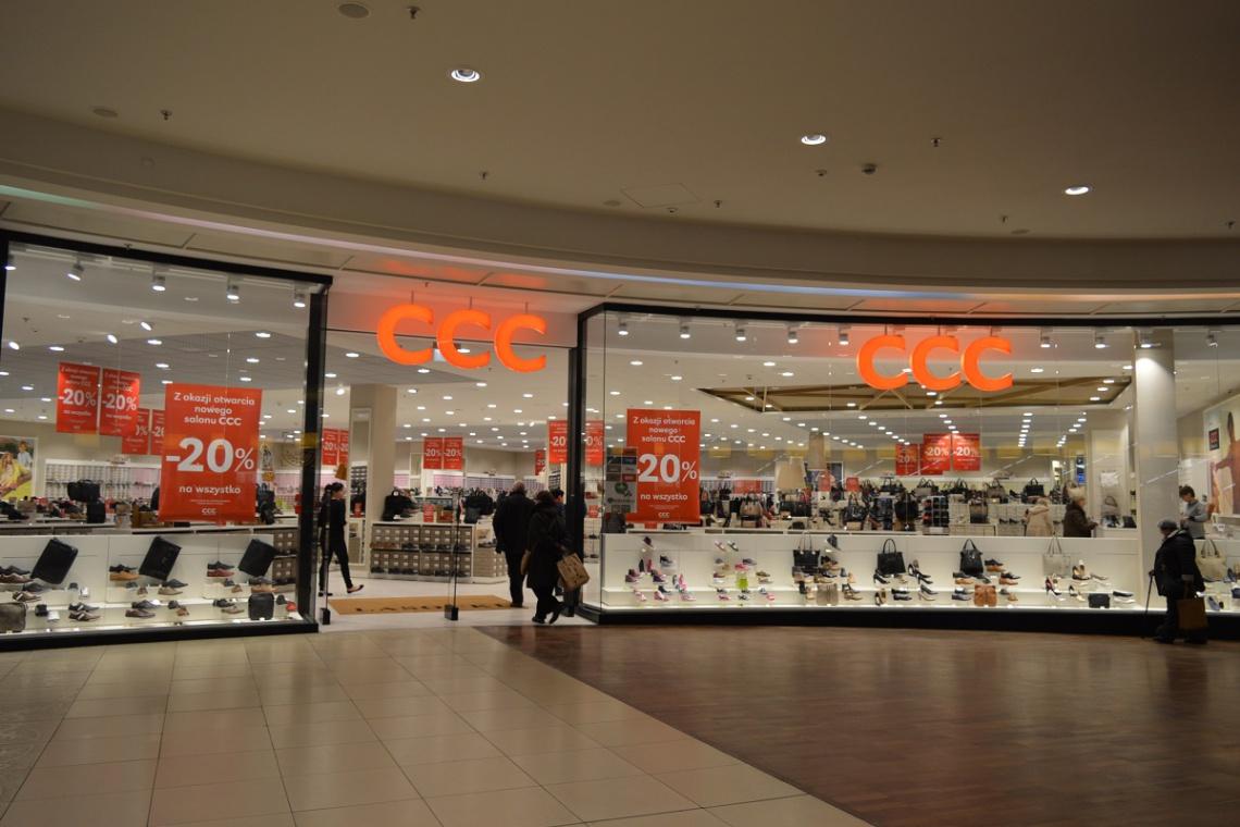 W nowym koncepcie salon CCC w Manufakturze