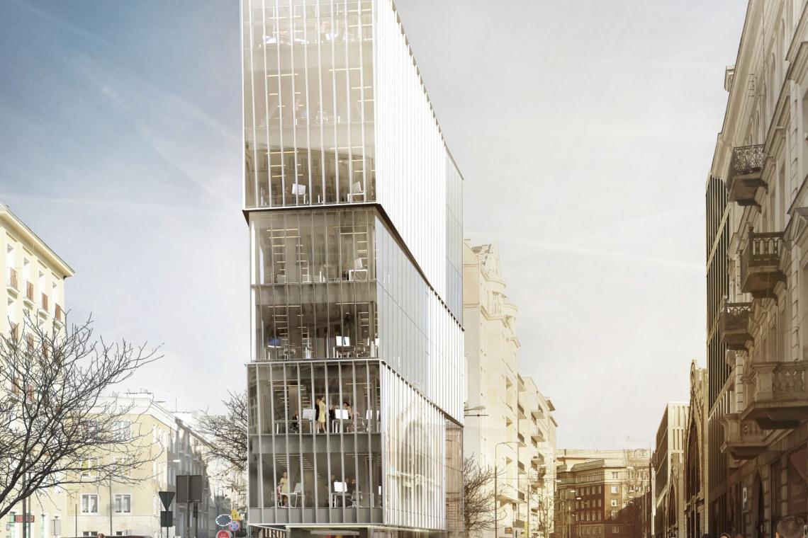 Grupa 5 zaprojektowała nowy biurowiec w Warszawie