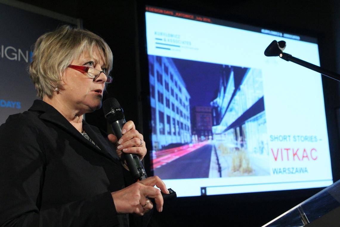 Ewa Kuryłowicz na 4DD: Architektura przyciąga ludzi