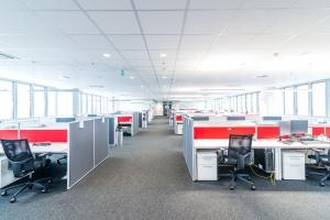 Zaglądamy do wnętrza biura firmy Kaufland