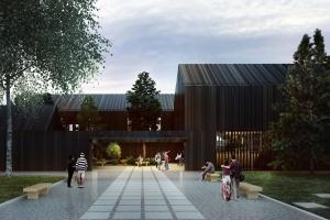 Tak będzie wyglądał budynek edukacyjny Leśnego Ogrodu Botanicznego