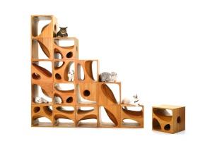 CATable - designerski stół dla człowieka, rajem dla kota