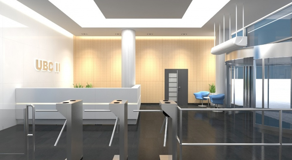 Metamorfoza lobby University Business Center II