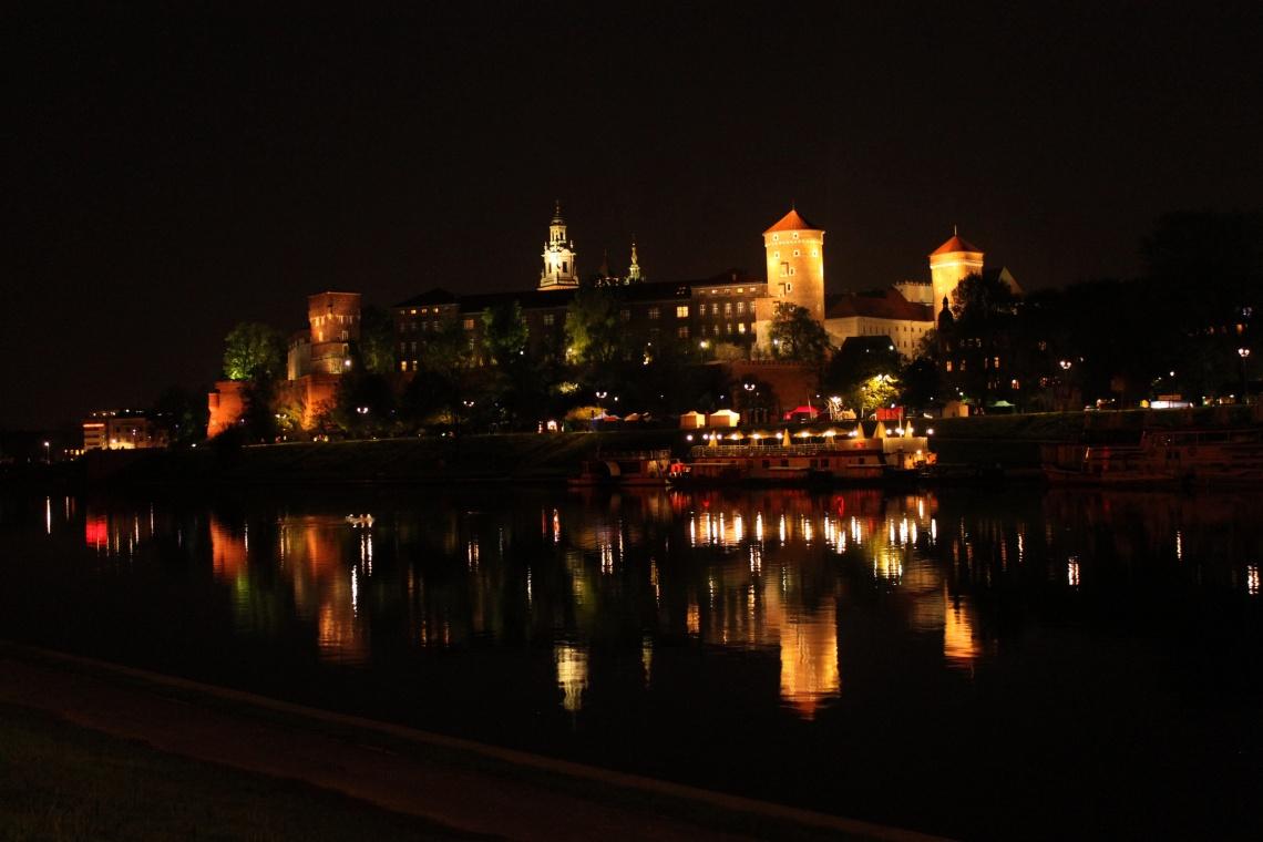 Bulwary Wiślane w Krakowie będą oświetlone