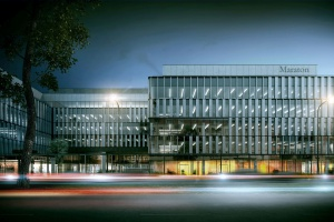 Co wyróżnia Maraton - biurowiec Skanska projektu CDF Architekci
