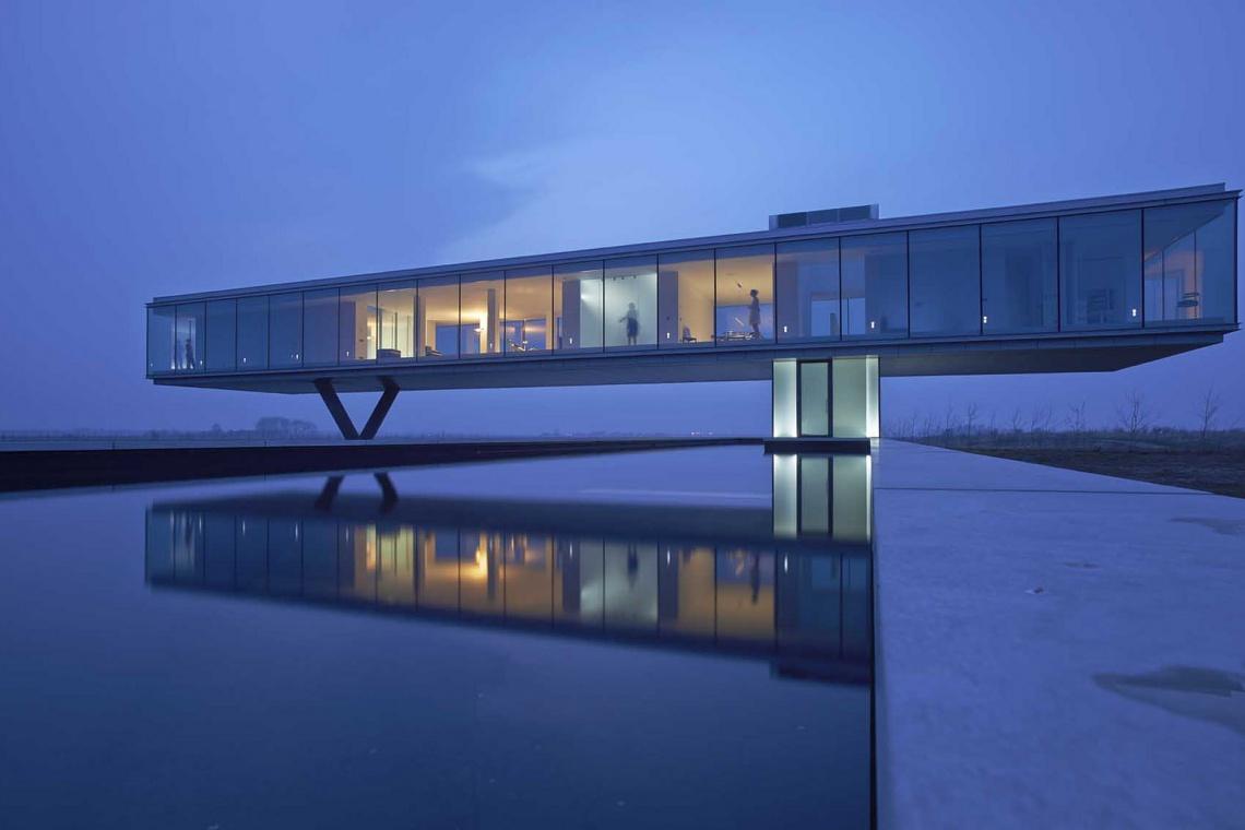 Paul de Ruiter tworzy architekturę, która uspokaja i inspiruje