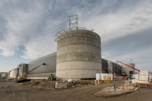 Co słychać na budowie centrum Posnania?