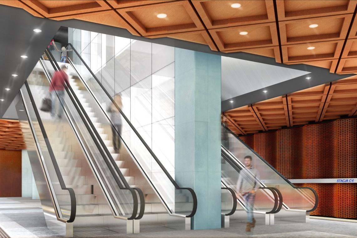 Nowy odcinek II linii metra gotowy do 2021 roku - zobacz jak będzie wyglądać