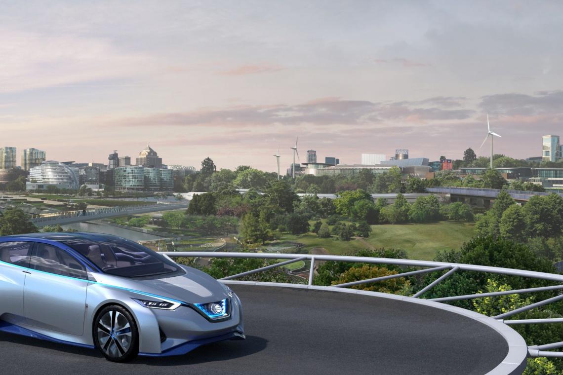 Niesamowity projekt przyszłości od Foster+Partners i Nissan Europe