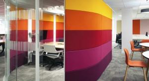 Kolor w biurze - może wpływać na efektywność pracy