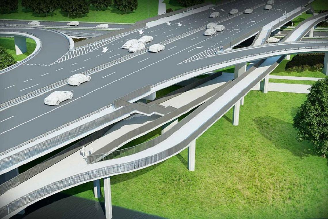 Most Łazienkowski będzie miał dwie kładki