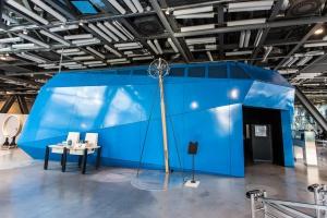 Nowy pawilon w CNK nawiązuje kształtem do bryły obiektu