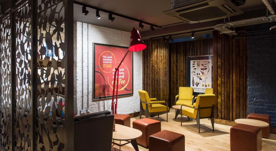 Kawiarnie w londyńskim stylu od Stiff + Trevillion
