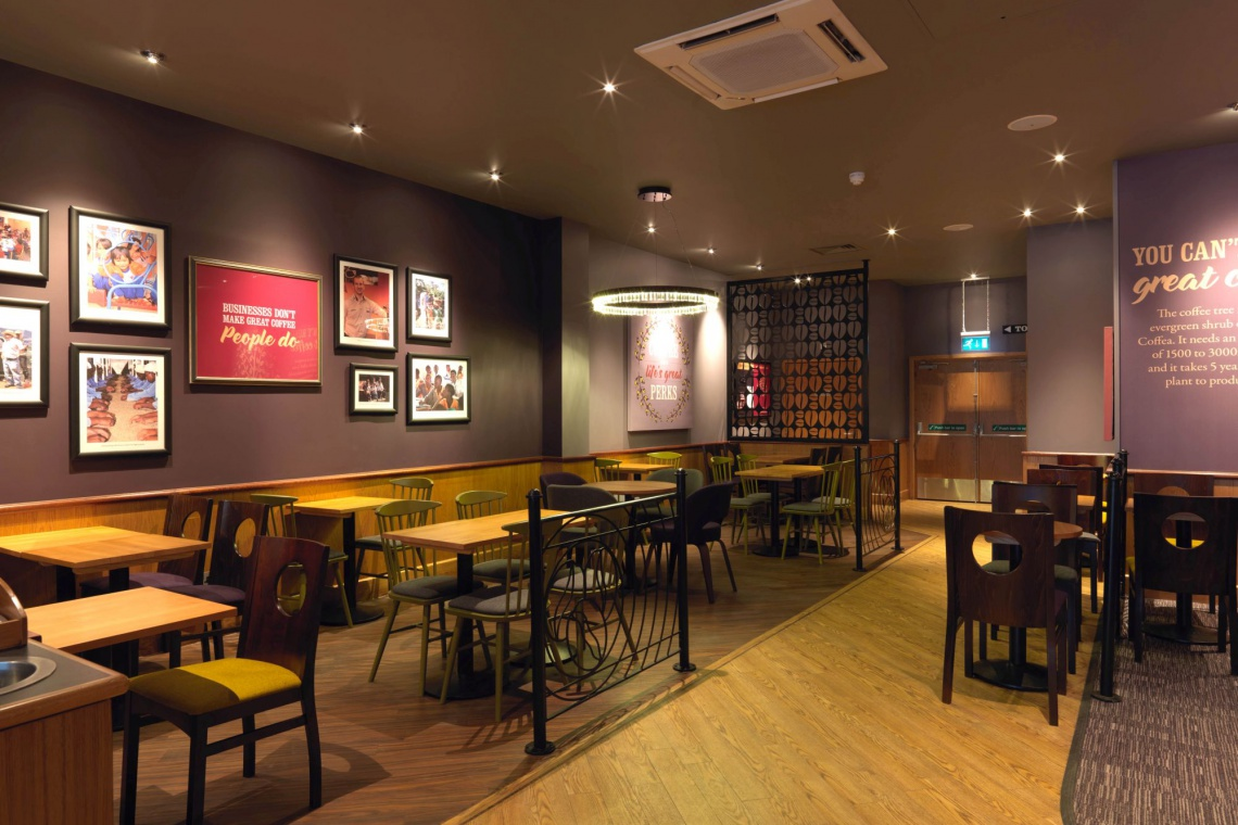 Costa Coffee w londyńskim stylu debiutuje w Białymstoku