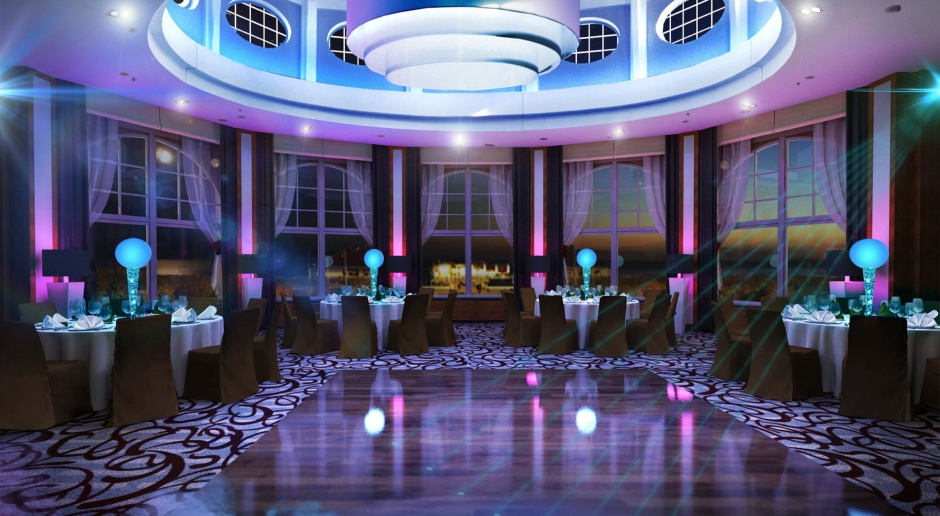 Zjawiskowa sala balowa w Sheraton Sopot Hotel