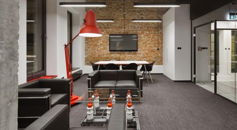Industrializm inspiruje, czyli nowoczesne biuro w klimacie loftowym