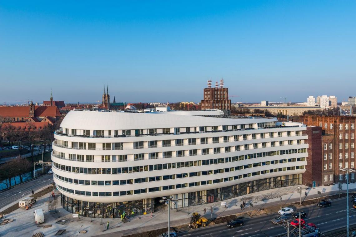 Futurystyczna wizja OVO Wrocław stała się rzeczywistością
