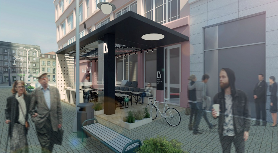 Tak będzie wyglądać KluboGaleria SARP w Katowicach
