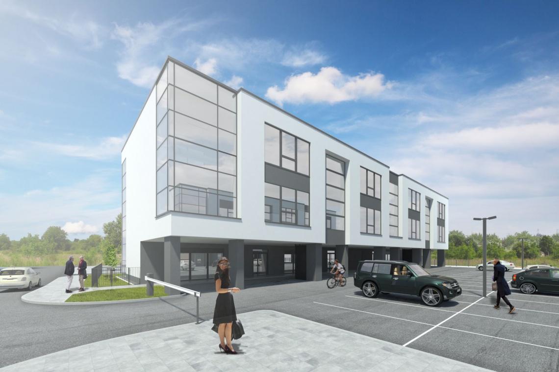 Nowe biurowce we Wrocławiu - proste i oszczędne w formie