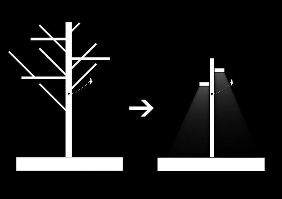 Lampa w... ciąży na polskich ulicach