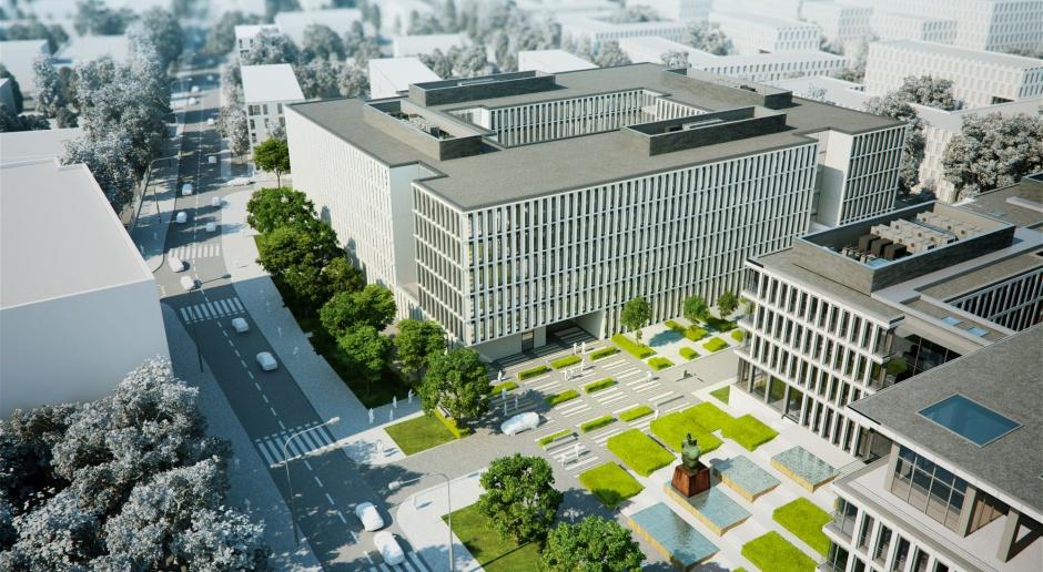 Nowy biurowiec w Warszawie od JEMS Architekci