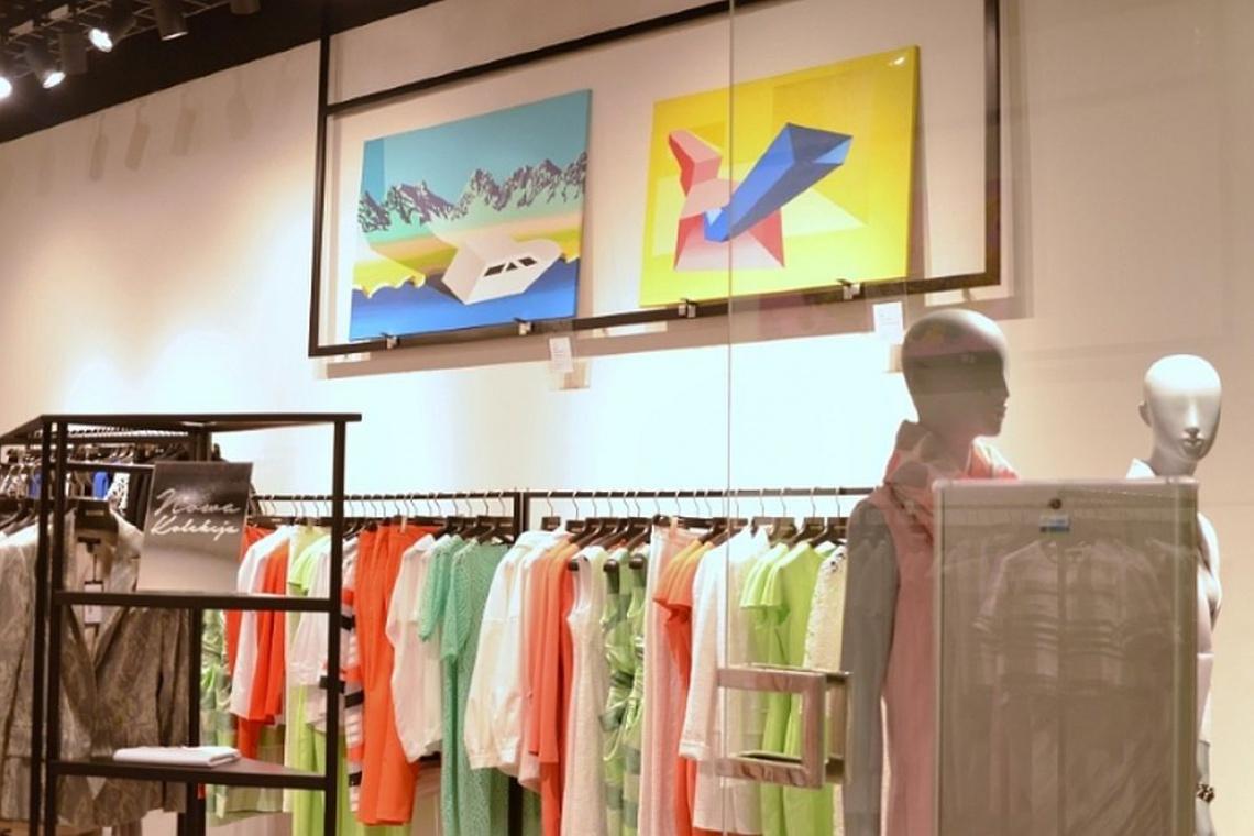 Warszawskie salony Hexeline w nowych wnętrzach i w otoczeniu dzieł sztuki