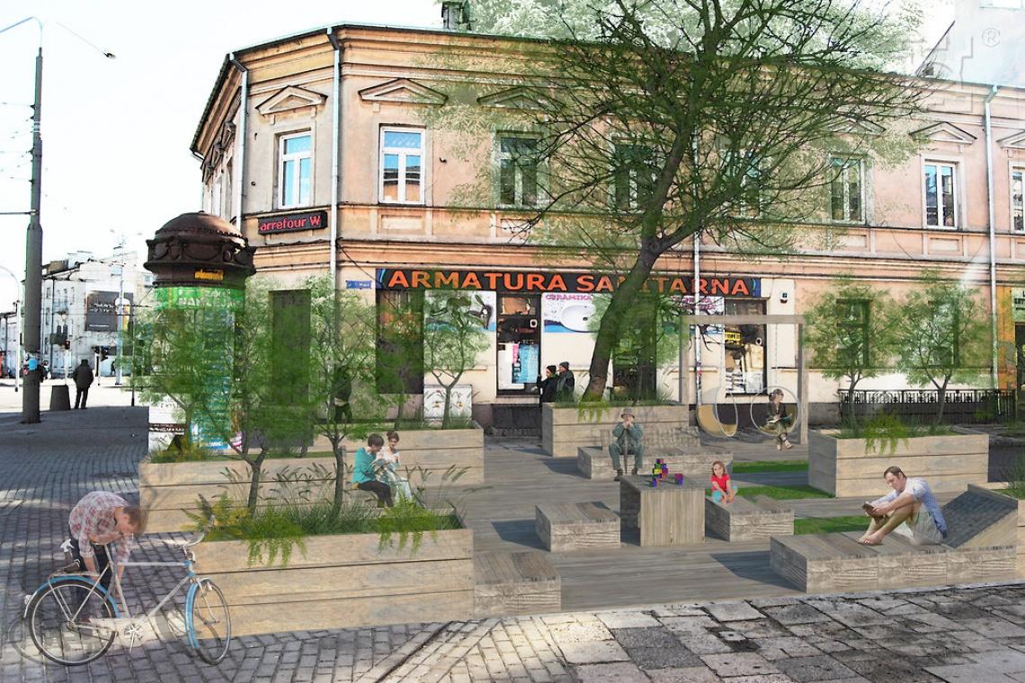 Lublin idzie w ślady Łodzi i planuje... woonerf