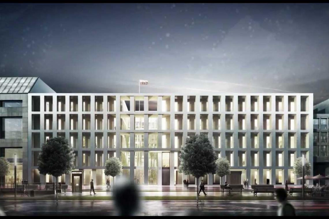 Nowy budynek ambasady w Berlinie do 2019 r. To projekt JEMS