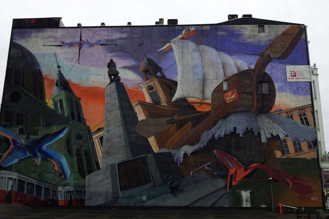 Nie tylko murale. Łódź wprowadza w przestrzeń miejską inne formy artystyczne