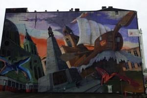 Kolejne murale powstały w Łodzi