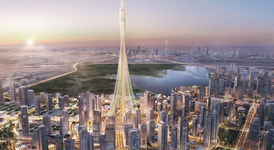 Santiago Calatrava projektem w Dubaju detronizuje najwyższy budynek świata