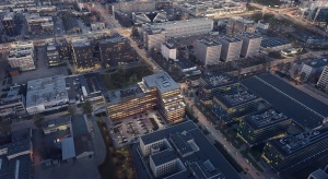 Biurowiec D48 to połączenie ciekawej architektury z ekologicznymi rozwiązaniami