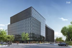 Co słychać na budowie biurowca D48 w Warszawie?