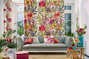 Barwy i wzory spod pędzla malarza - trendy wyposażenia wnętrz