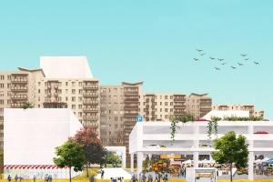 Tak może wyglądać ulica Kondratowicza - nowe centrum Targówka