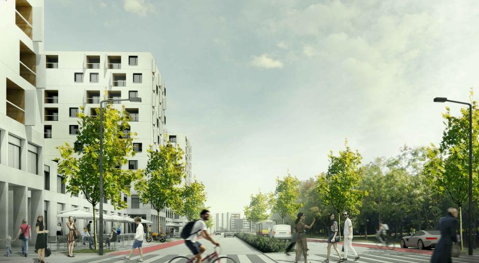 Tak może wyglądać nowe centrum Targówka