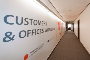 Biuro Comarch po liftingu - zobacz odmienione wnętrza