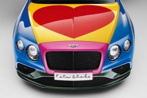 Samochód w stylu pop-art