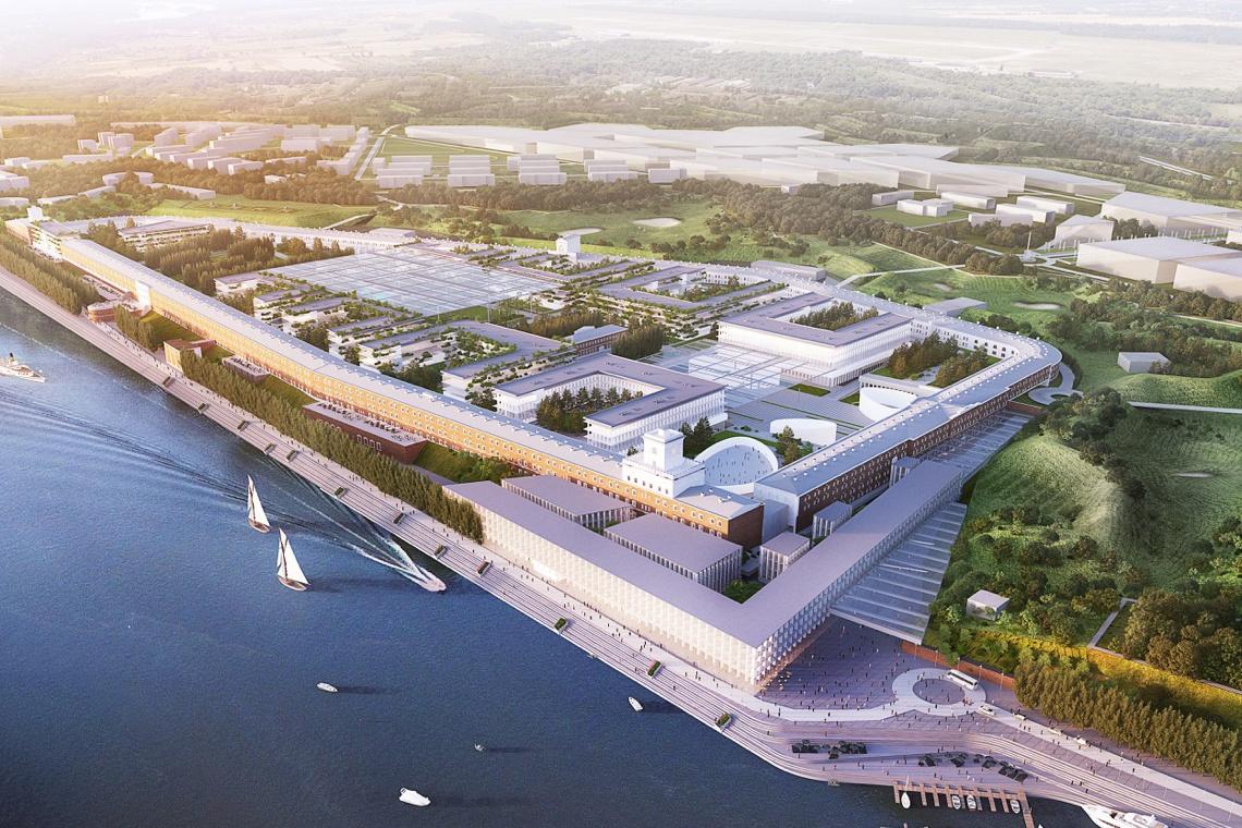 Warszawa Modlin Smart City - trwają prace nad spektakularną inwestycją