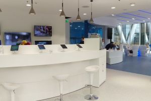 Najnowocześniejszy showroom i strefa relaksu Samsung w Warsaw Spire