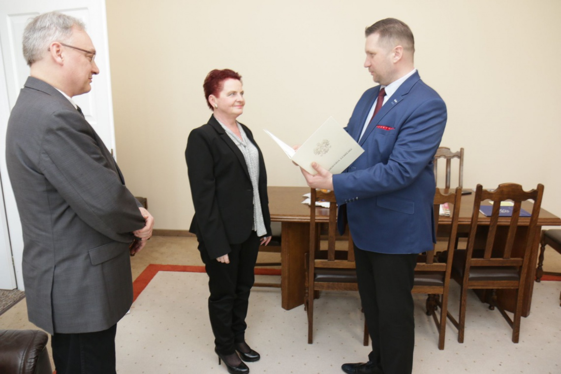 Maria Gmyz zastępcą wojewódzkiego konserwatora zabytków
