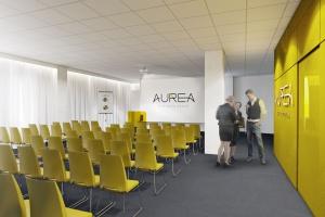 Zobacz wnętrza i architekturę Aurea Business House