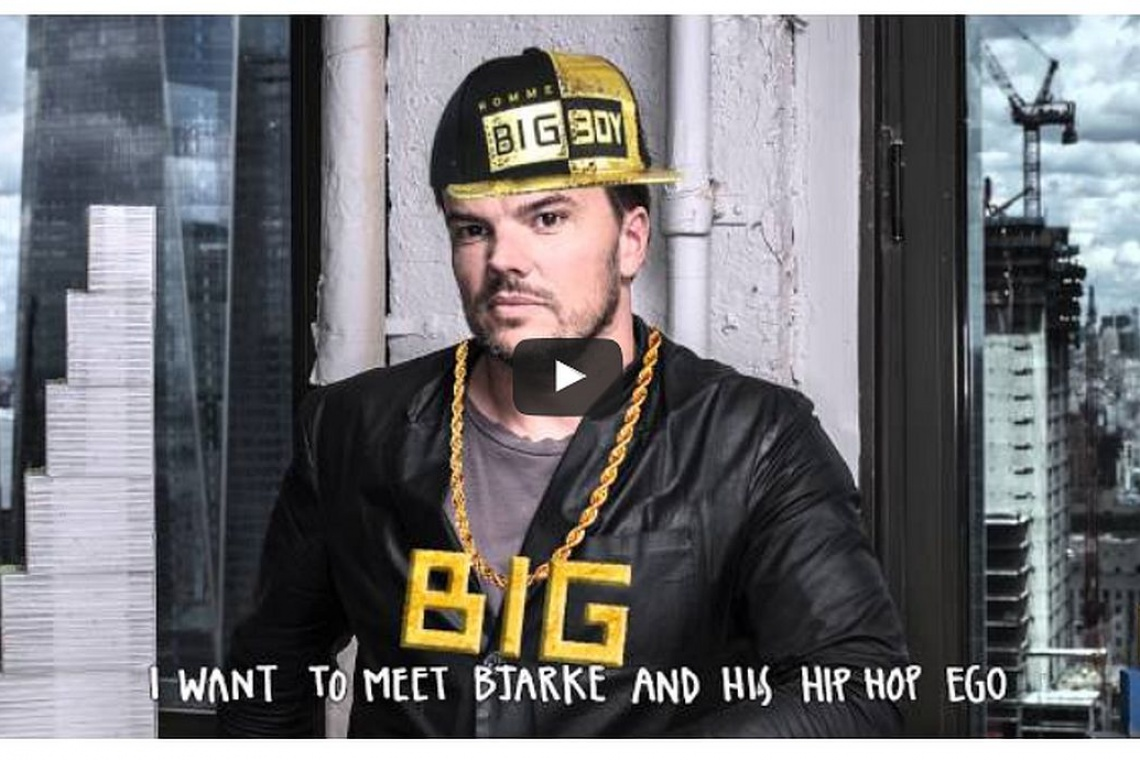 Bjarke Ingels zachwycony hip-hopowym CV młodego architekta