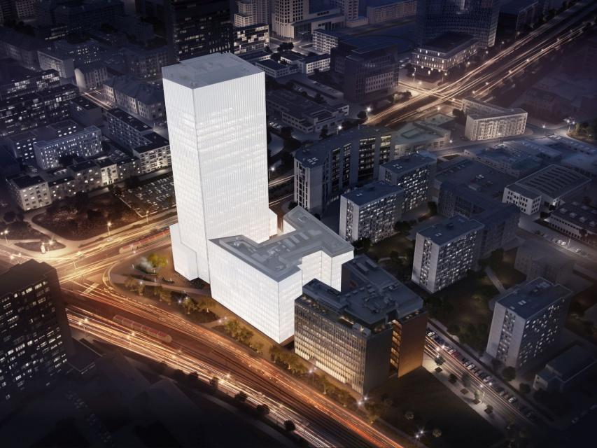 """Kuryłowicz & Associates projektują biurowiec na """"serku wolskim"""""""