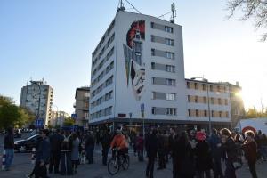 Mural dla Davida Bowiego już gotowy
