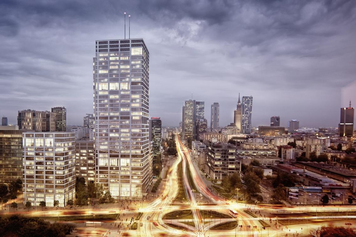 Wieżowiec wpisany w miasto